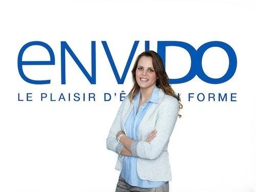 Laure Manaudou : les premiers clichés en tant qu'égérie d'Envido dévoilés sur sa page Facebook