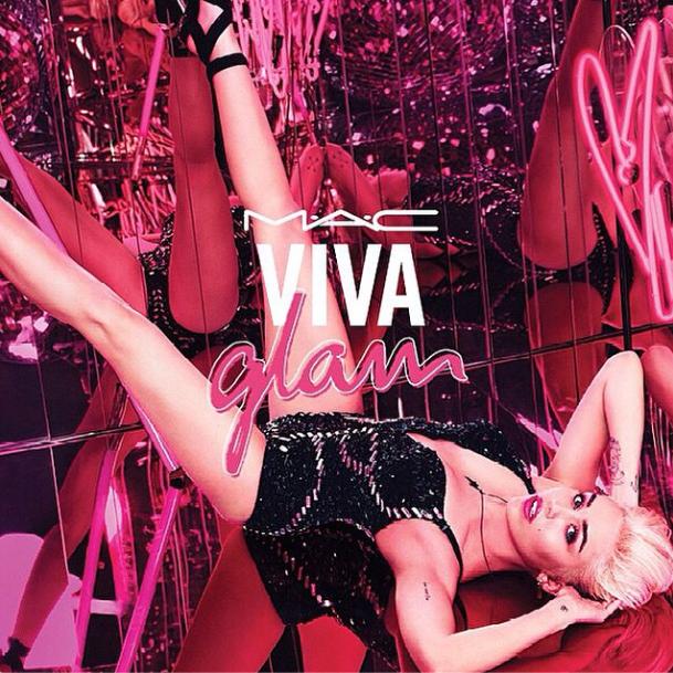 Beauté : Miley Cyrus : une nouvelle recrue pour la campagne Viva Glam de MAC !!