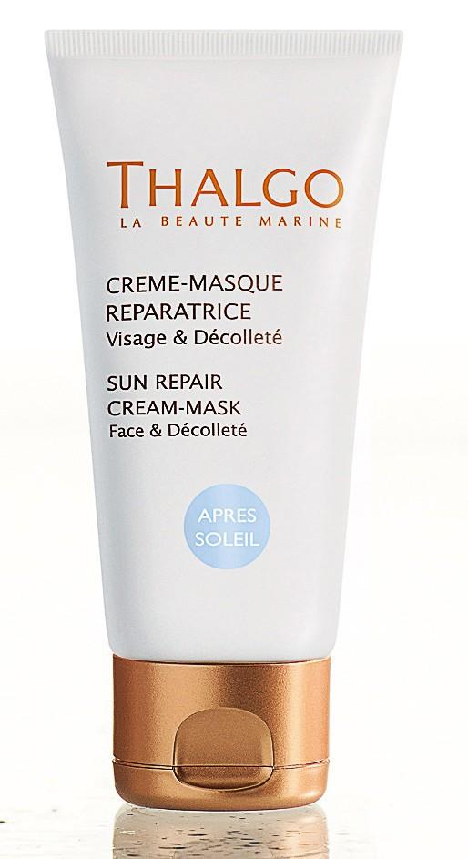 Crème-masque réparatrice après-soleil, Thalgo 21 €