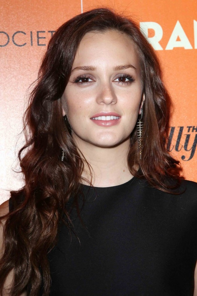 "Leighton Meester à la Première du film ""The Oranges"" à New York, septembre 2012"