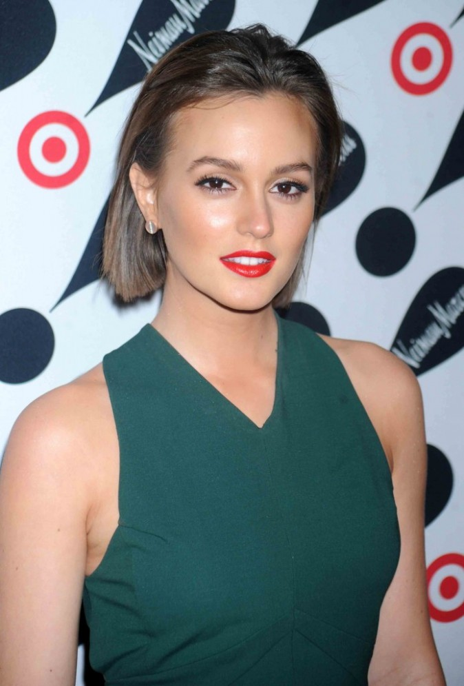 "Leighton Meester lors de la soirée ""Target + Neiman Marcus Holiday Collection"", novembre 2012"