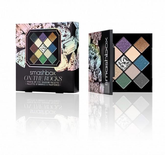 Palettes d'ombres à paupières On the Rocks, Smashbox, chez Sephora 32,50 €