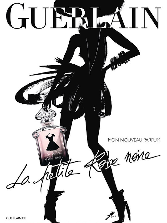 La petite robe noire de Guerlain a été le 3ème parfum le plus vendu en France en 2013 !