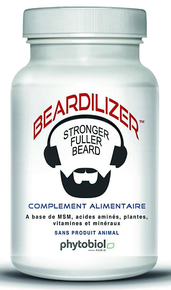 Accélérateur de pousse de barbe Beardilizer, Phytobiol 34,90 € les 90 gélules