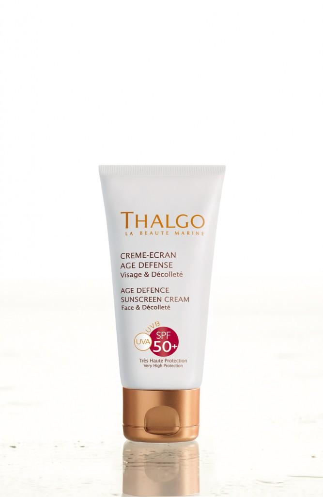 Crème-écran, âge défense SPF 50+, Thalgo 20 €