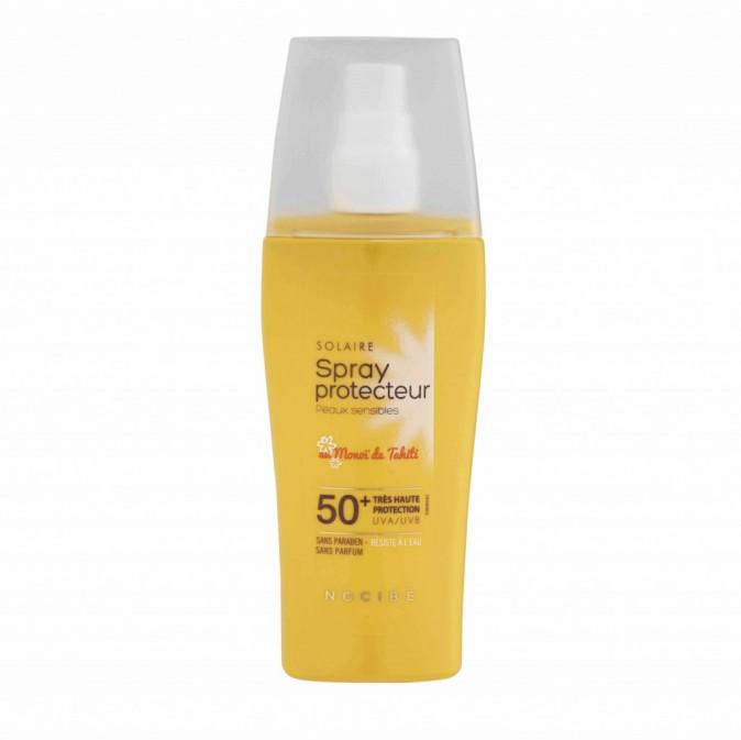 Spray protecteur au monoï SPF 50+, Nocibé 13,95 €