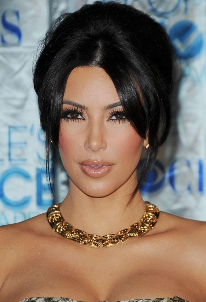 beaut quel beauty look pour kim kardashian le jour de son mariage. Black Bedroom Furniture Sets. Home Design Ideas