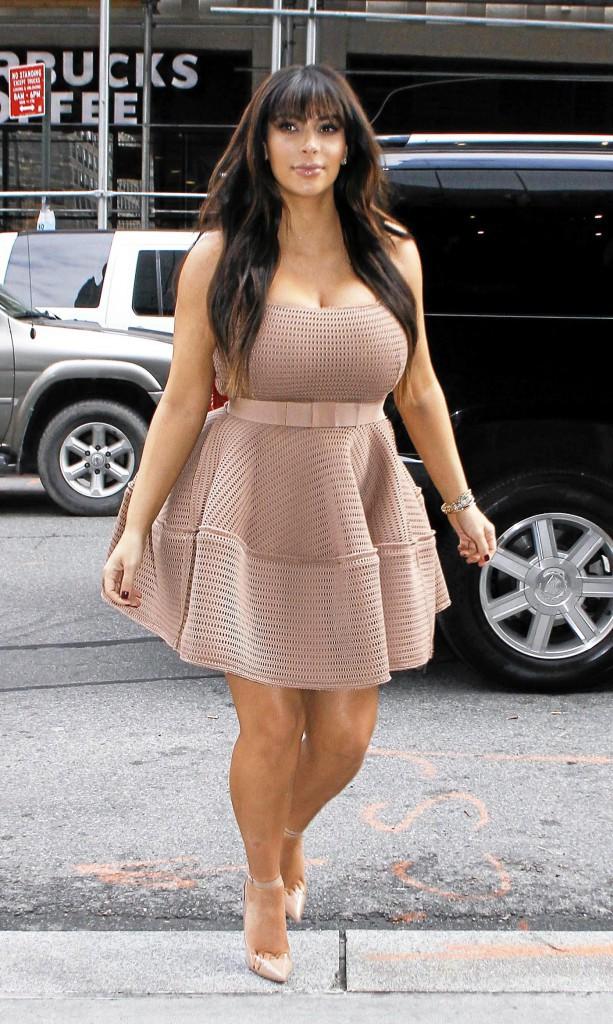 Kim Kardashian avant .... Un mariage, un bébé, et hop ! Envolés les kilos !