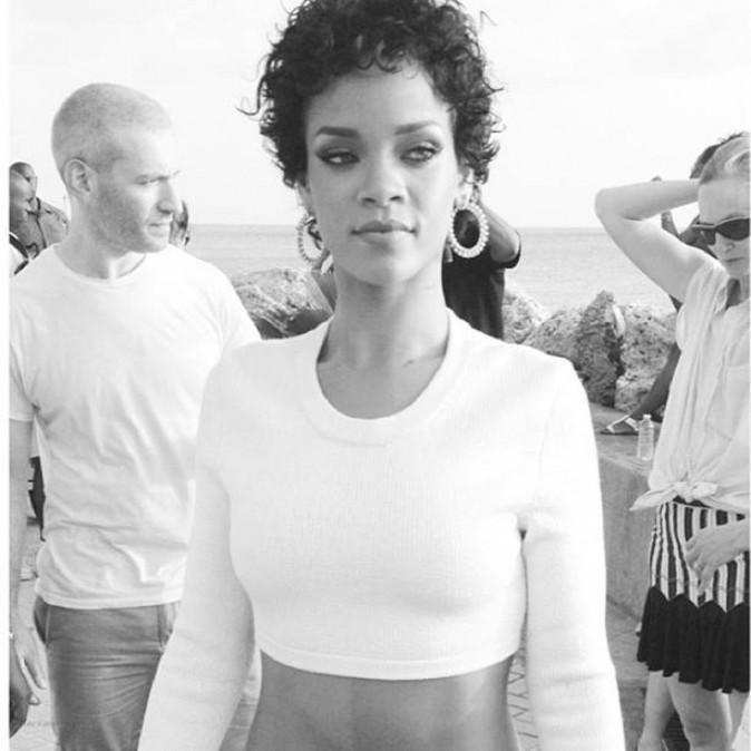 Rihanna en août 2013