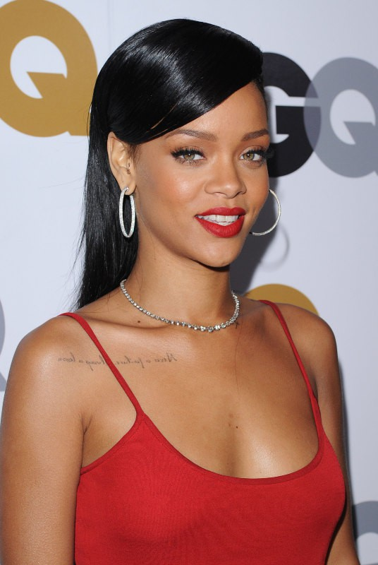 Rihanna en novembre 2012