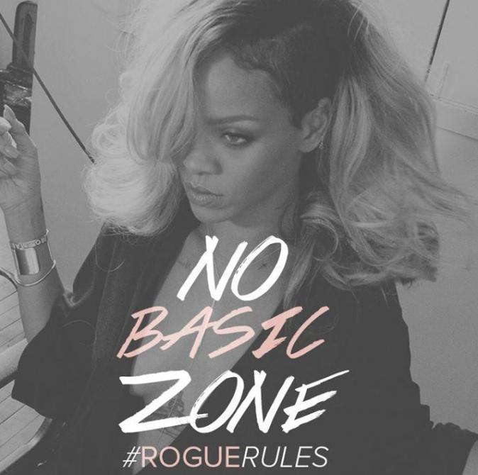 Beauté : Rihanna : une diva arrogante pour la première photo promo de son nouveau parfum !