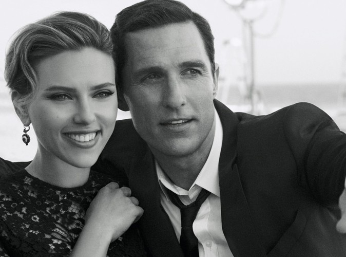 Scarlett Johansson et Matthew McConaughey, un couple d'égéries stars !