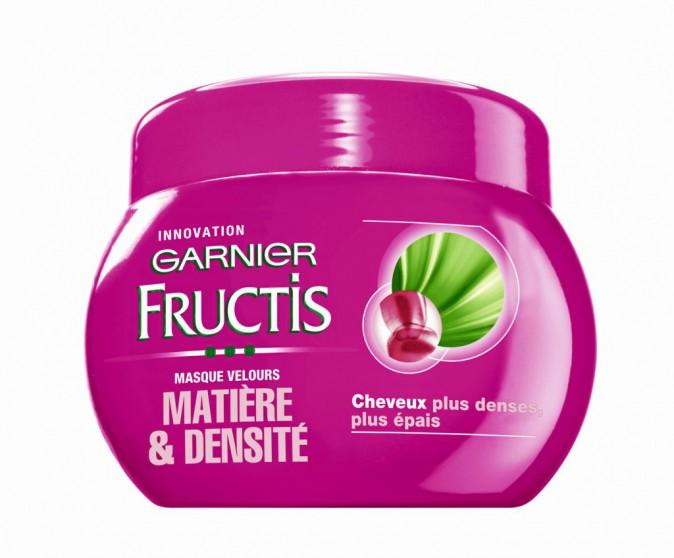 Masque velours matière & densité Fructis, Garnier 5,40€