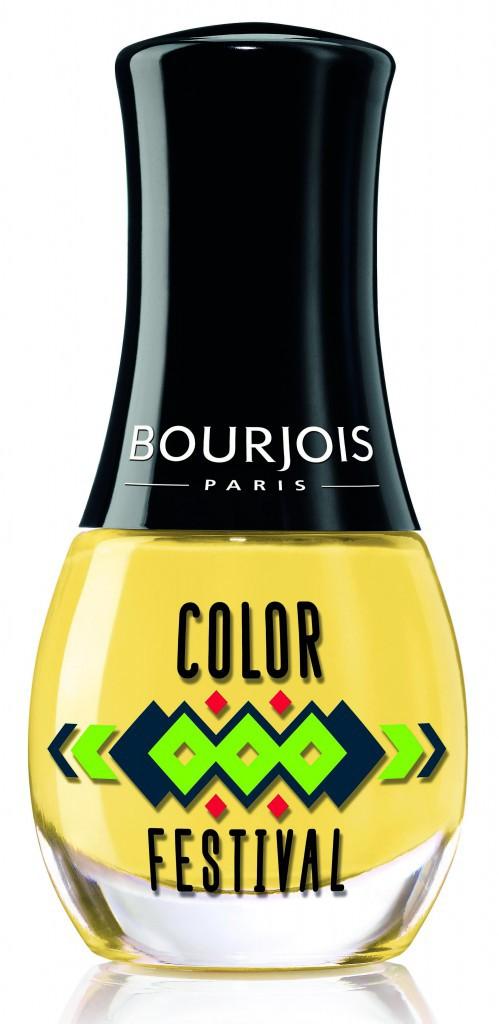 Mini-vernis, Color Festival, Bourjois 4€