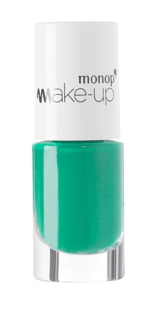 Vernis vert, Monop' Make-up 3 €