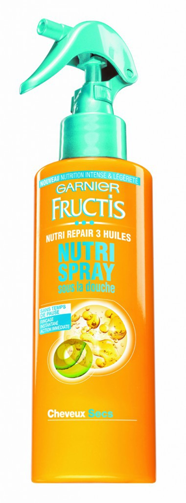 Rapide Spray Nutri Repair, Fructis, Garnier 7€