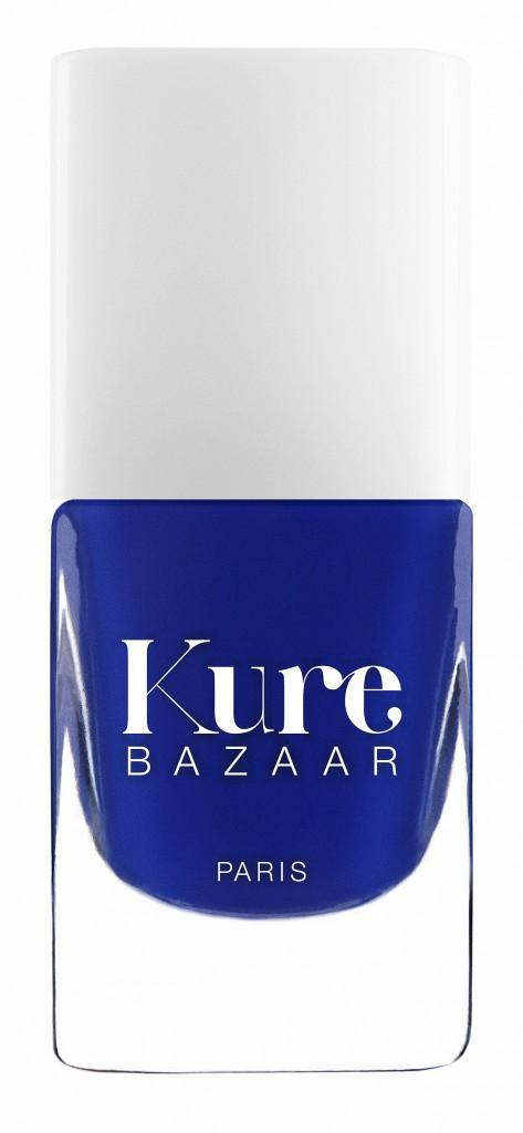 Vernis à ongles Mon bleu, Kure Bazaar, sur kurebazaar.com. 16€