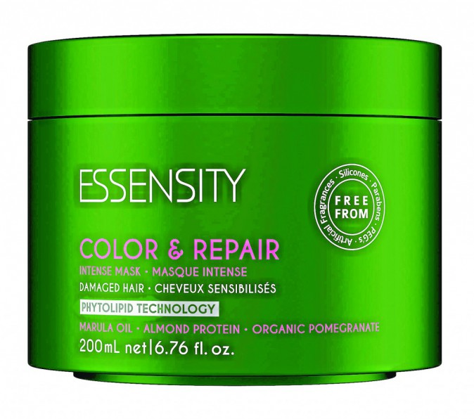 Masque Color & Repair, Essensity, Schwarzkopf. 23,05€.