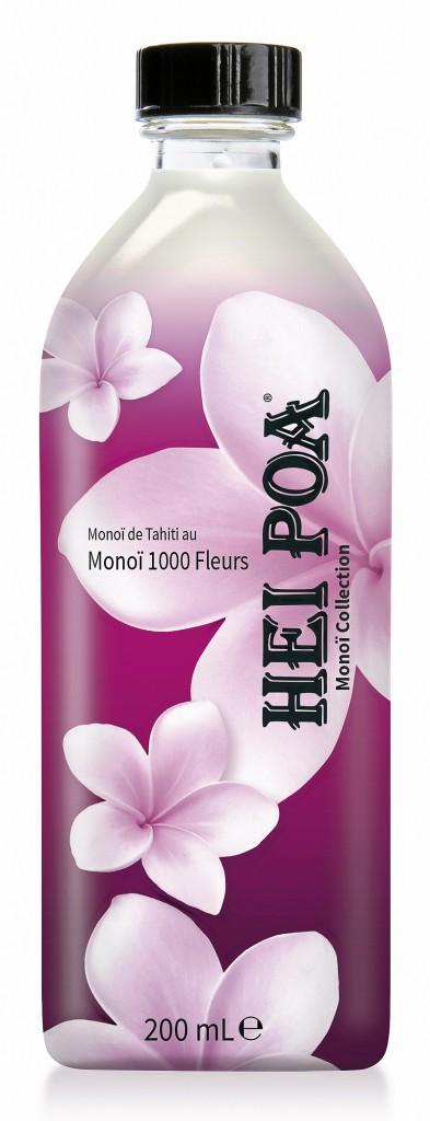 Monoï 1 000 fleurs, Hei Poa, chez Monoprix 17,79€