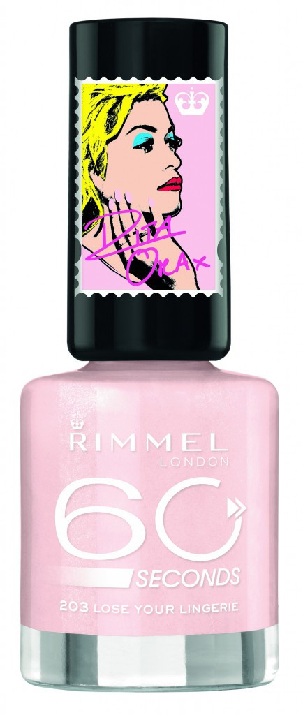 Vernis 60 Seconds, Rita Ora x Rimmel 5,95 €