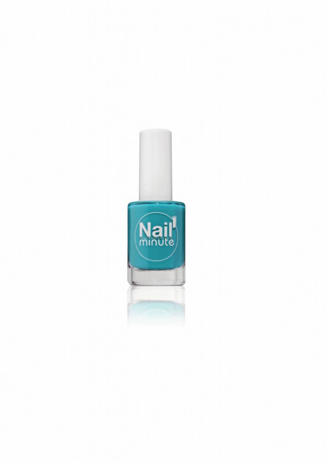 Vernis turquoise, Nail'minute 5,90€
