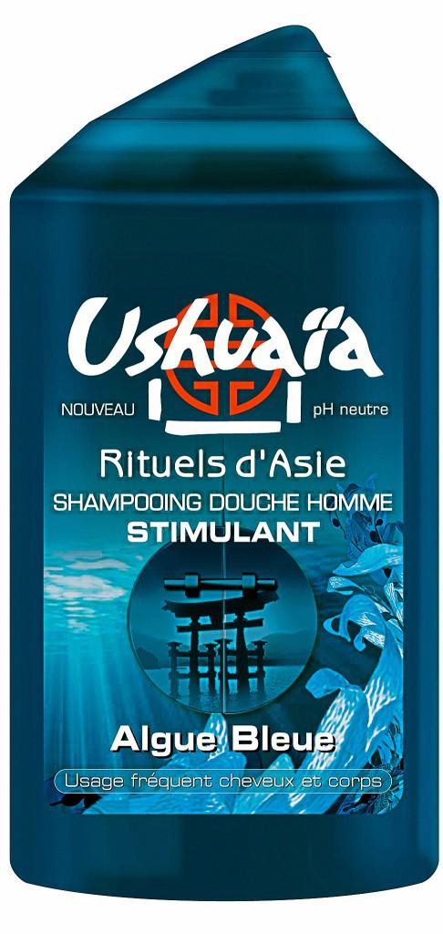 Shampooing douche pH neutre, Algue Bleue, Ushuaïa 2€
