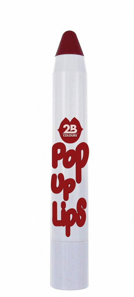 Pop up Lips, The Cherry on the cake, 2B Colours 4,50 € en exclu chez Parashop