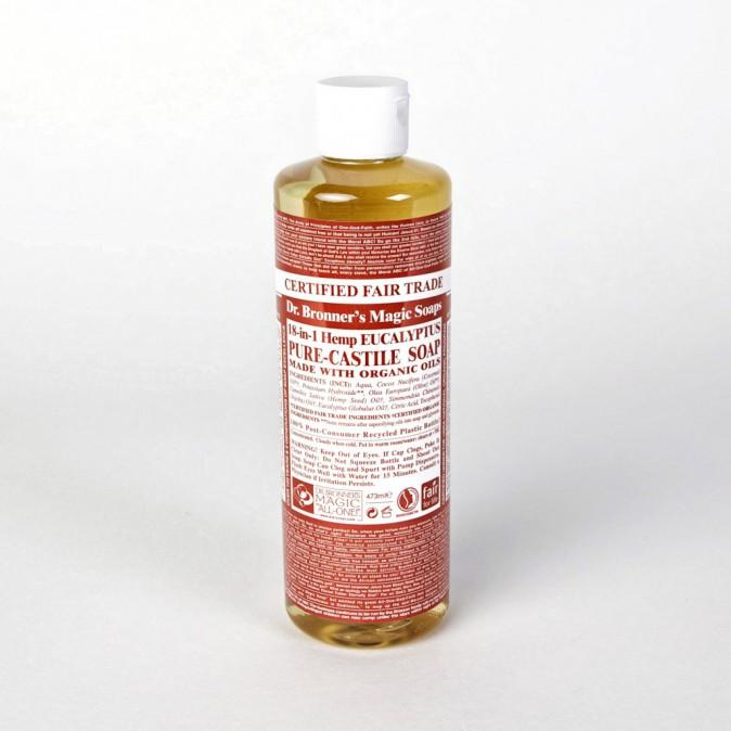 Savon liquide à tout faire à l'eucalyptus, Dr. Bronner's sur parfaites.fr 9,40€