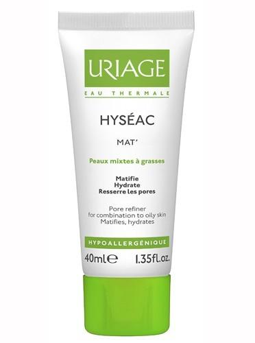 Crème matifiante, Hyséac, Uriage, 11,90€