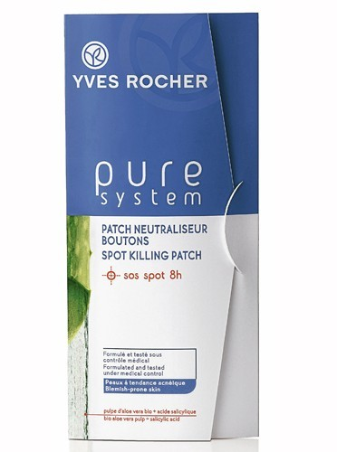 Patch neutraliseur boutons, Pure System, Yves Rocher, 13€
