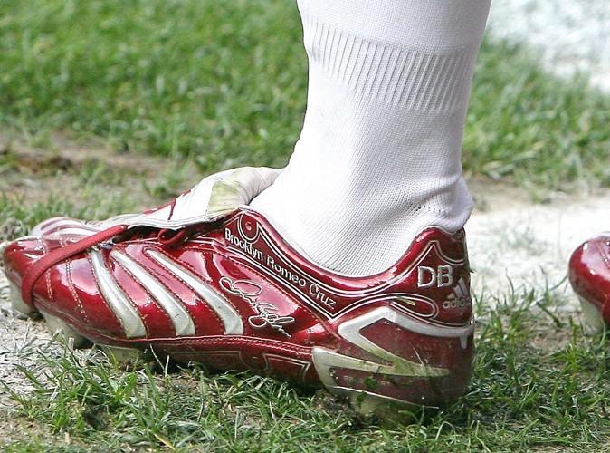 Avant juillet 2011 il n'y avait que trois prénoms sur les chaussures de David.