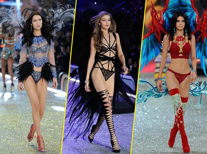 Photos : Bella, Gigi, Kendall : elles ont illuminé le catwalk du Victoria's Secret Fashion Show 2016 !