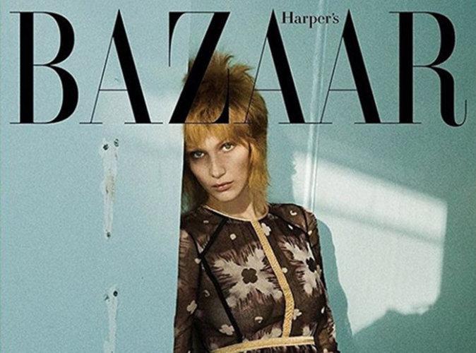 Bella Hadid : elle rend hommage à David Bowie en couverture de Harper's Bazaar Corée