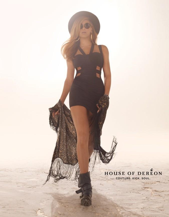 Beyoncé pose pour sa propre marque House of Dereon !