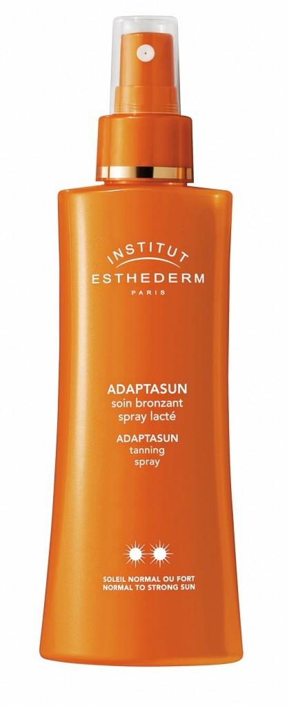 Soin bronzant spray lacté Gamme Adaptasun, Esthederm 39,80 €