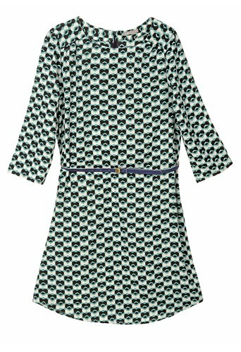 1. Robe imprimée, Tex de Carrefour, 12€