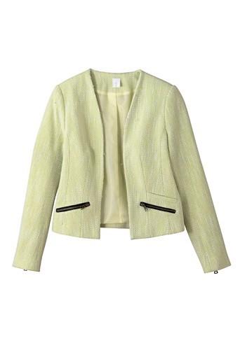 1. Veste en lin poches zippées, Kiabi, 29,99€