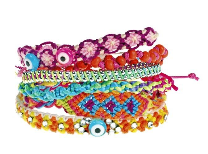 3. Bracelets brésiliens, Claire's, 5,90€