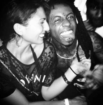 Lil Wayne a l'air d'apprécier la marque Defend Paris …