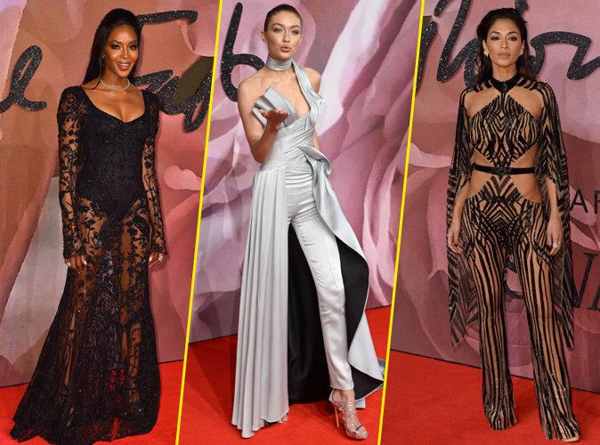 British Fashion Awards 2016 : Naomi Campbell, Gigi Hadid, Nicole Scherzinger : Votez pour le plus beau look !