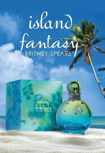 Britney Spears lance son nouveau parfum Island Fantasy !