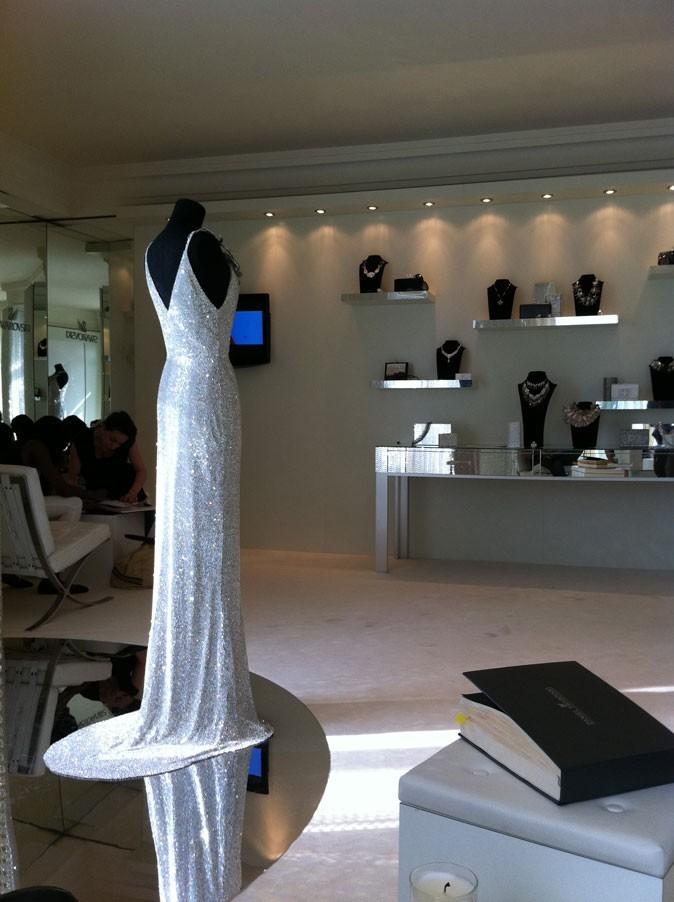 Cannes 2011 : un showroom Swarovski de toute beauté !