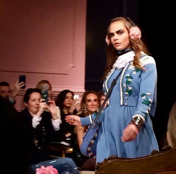 Cara et Kendall redonnent vie au défilé Paris-Salzburg by Chanel... à New York !