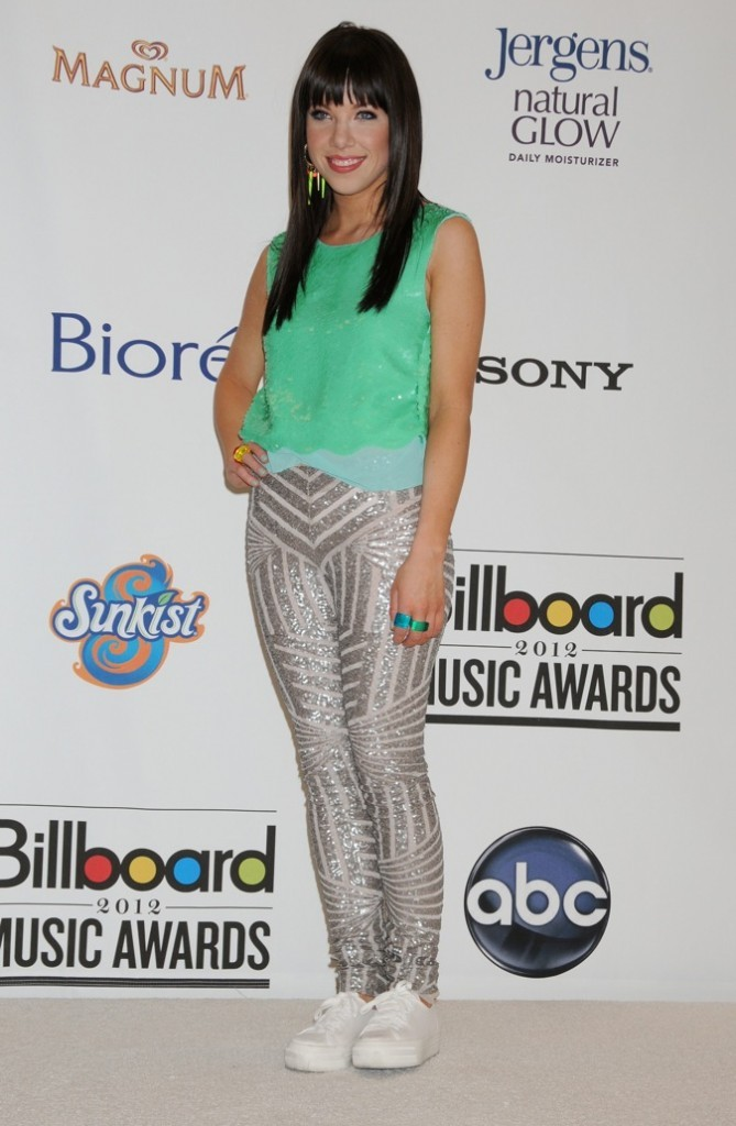 Carly lors des Billboard music awards !