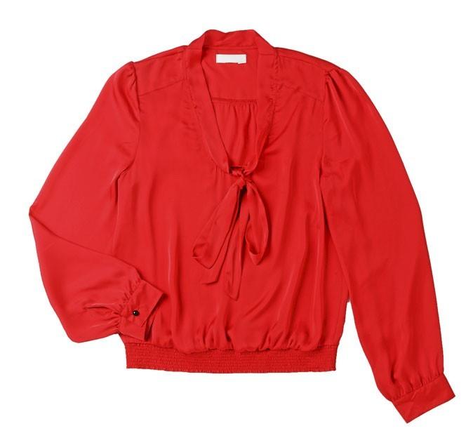 La blouse rouge Mim à 25€ !