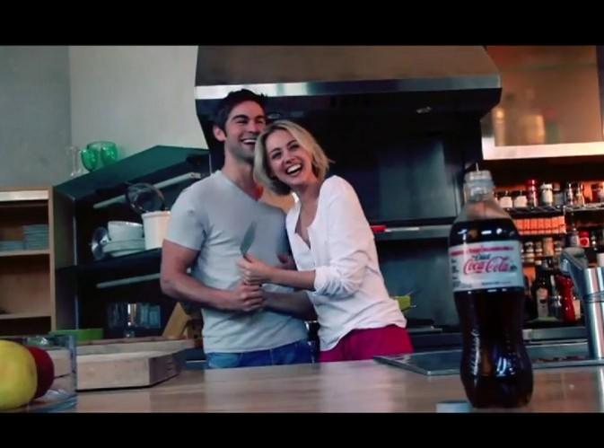 Chace Crawford pour la campagne coca-cola light Australie