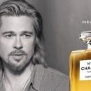 Brad Pitt dans sa dernière pub pour Chanel N°5