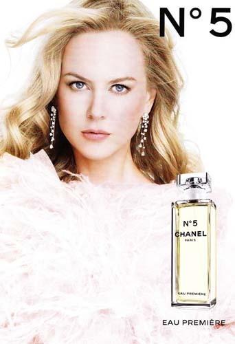 Nicole Kidman pour Chanel N°5