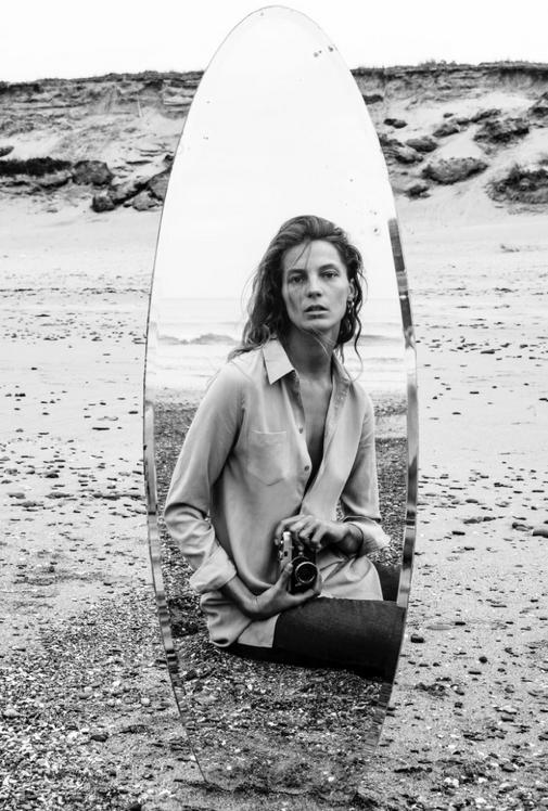 Daria Werbowy pour la marque française Equipment !