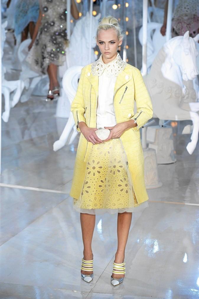 1. Sorbet time : défilé Louis Vuitton